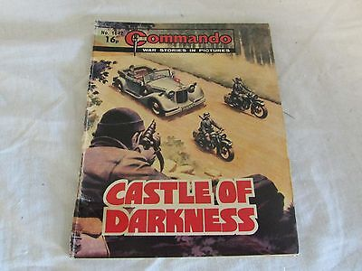 **LOOK** Commando Comic 1642 Castle of Darkness