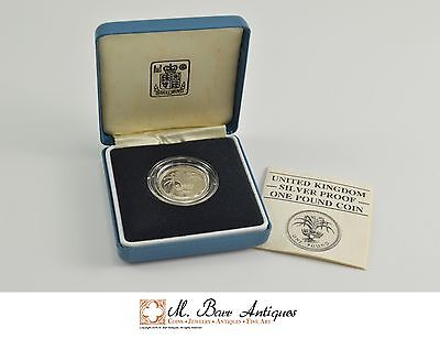 1985 Great Britain Silver Proof 1 Pound Coin *0340