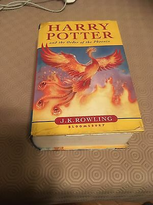 harry potter and the order of the phoenix Book 1st Edition