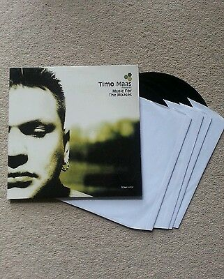 Timo maas music for the maases rare vinyl, techno, house music,