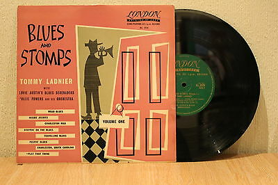 """Tommy Lander Blues And Stomps Vol One 1956 London 10"""" Lp Ex"""