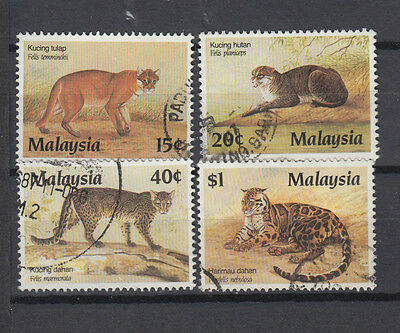A very nice old Malaysia 1987 Protected Animals group