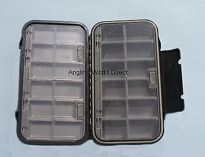 Phoenix Waterproof  Fly  Tube Fly Box - 24 Compartments