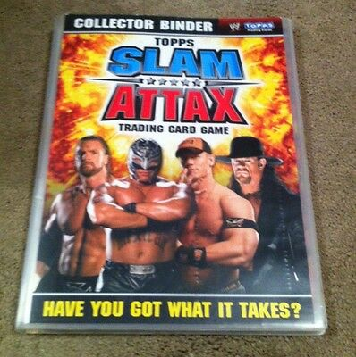 Topps Slam Attax 2008 TCG Complete Set in Binder 174/172