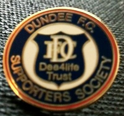 Dundee Fc Supporters Society Badge