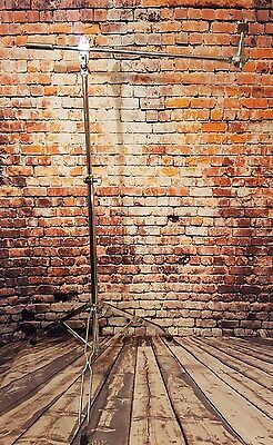 Vintage 1980's PEARL double braced cymbal stand with Boom arm for drum kit