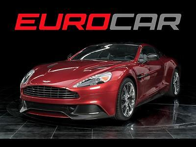 2014 Aston Martin Vanquish Base Coupe 2-Door 2014 Aston Martin Vanquish, HIGHLY OPTION, ONLY 5000 PAMPERED MILES!!