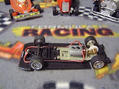 1/32 SIDEWAYS(Slot.it) RILEY MkXX inline floating motor pod chassis-used