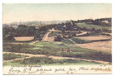 The Golf Links,Bournemouth.publisher J.W.S. 93    (G)