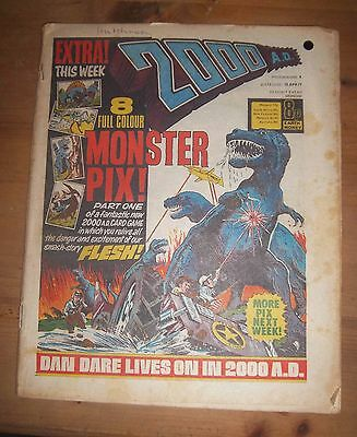 2000 AD - PROG No 8  - Date 16/04/1977 - UK Paper Comic