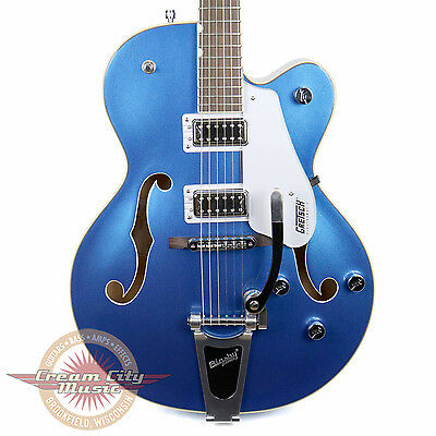 New 2016 Gretsch G5420T Electromatic Hollow Body in Fairlane Blue w/ Bigsby Demo