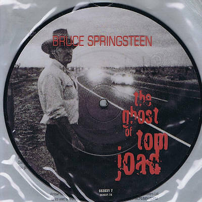 BRUCE SPRINGSTEEN the ghost of Tom Joad / straight time (live) - PICTURE DISC