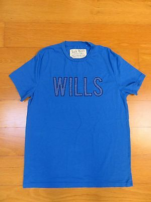 JACK WILLS men's casual graphic cotton t-shirt top - NEW - size M