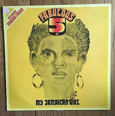 Fabulous 5 Inc - My Jamaican Girl UK 1976 LP Trojan Records