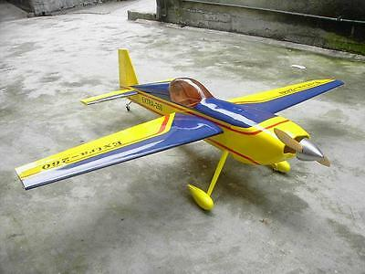Giant Scale Extra 260 Aerobatic Plane Plans,Templates & Instructions