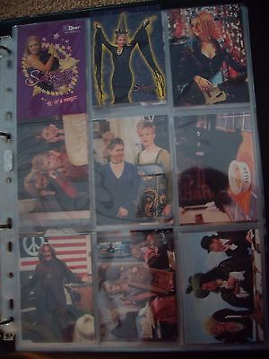 Sabrina The Teenage Witch Trade Cards In Album - Dart Flipcards X 75 A & C 1999