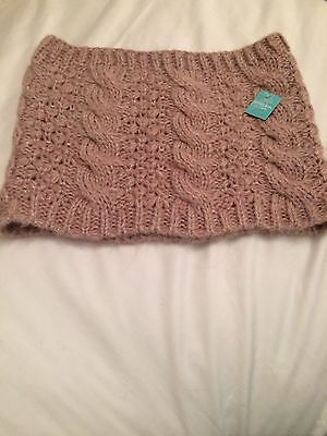 NEW With Tags MONSOON Childs(7 Years +) Mauve Snood £4.00