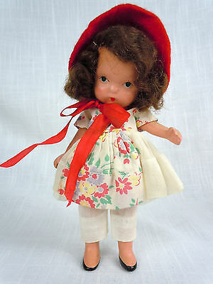 To Market Nancy Ann Storybook Jointed Leg Molded Sock Pudgy Doll
