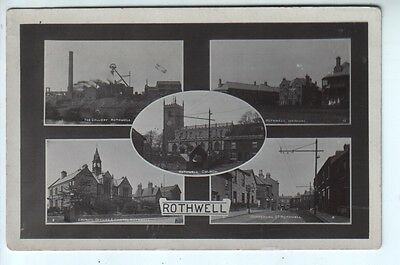 Yorkshire - Multiview of Rothwell, including Colliery