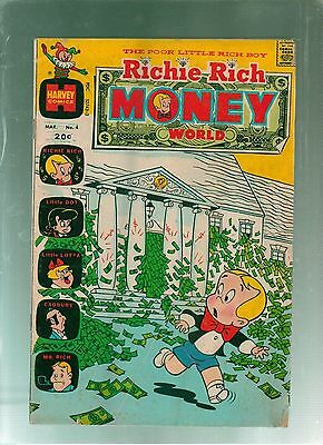 Richie Rich Money World #4  Harvey Comics 1973