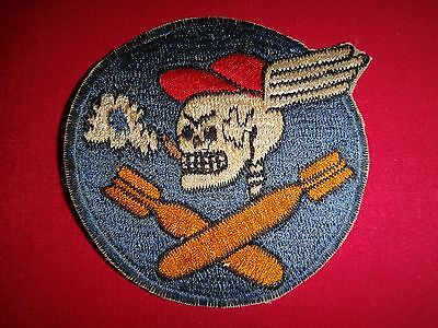 USAF Patch 587th BOMBARDMENT Squadron 394th BOMB Group (Inactive)
