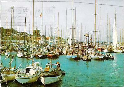 Cowes Harbour, Isle of Wight  -Posted Postcard