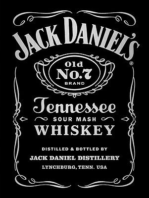Metal Sign Jack Daniel's metallic style picture decorative tin sign plaque gift