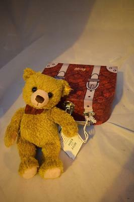 Steiff Carlo Teddybear in Suitcase - NEW with tags
