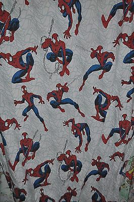 AMAZING SPIDER-MAN  FLAT & FITTED BED SHEET + PILLOWCASE Marvel Comics Spidey