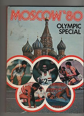 Moscow   1980   Olympic Special  Book