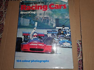 The All Colour Book of Racing Cars - 1973 Hardback Book by Brad King