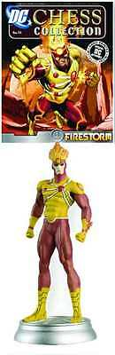 DC SUPERHERO CHESS FIGURE COLLECTION #53 w/mag FIRESTORM WHITE PAWN  #soct16-323