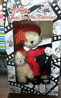 2008 Muffy Vanderbear Goes to the Movies LITTLE ORPHAN ANNIE Couture Teddy Bear