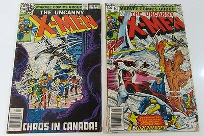 Uncanny X-Men (1979)  #120  121 Bronze Age Byrne 1st Alpha Flight Key Xmen
