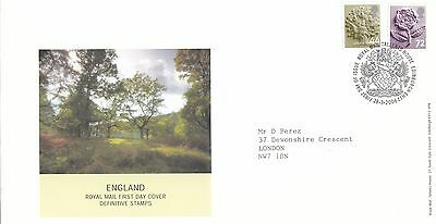 (96761) CLEARANCE GB England FDC 72p 44p Tallents 28 March 2006 NO INSERT