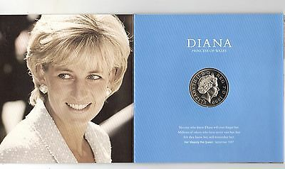 Diana, Princess of Wales Memorial £5 Five Pound Coin Presentation Pack 1961-1997