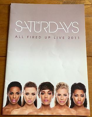 The Saturdays - All Fired Up  Tour  Programme