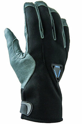 TOBE Capto Light Snowmobile Snow Glove with Leather Palm