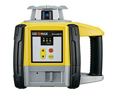GeoMax Zone40H Self Leveling Laser With ZRB35 Basic Receiver 6010653, Tripod