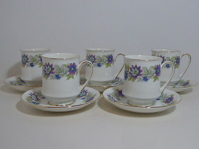 Paragon Cherwell Coffee Cup & Saucer x 5