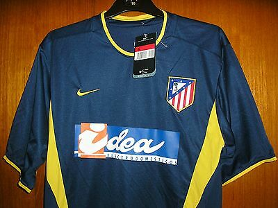 Atletico Madrid Football Shirt Nike Away 2002/3 size L 42/44 Brand New with Tags
