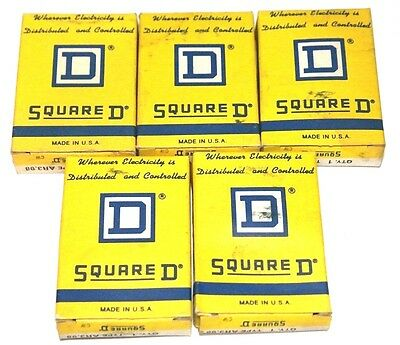 Lot Of 5 Nib Square D Ar3.98 Thermal Overload Relays 586644
