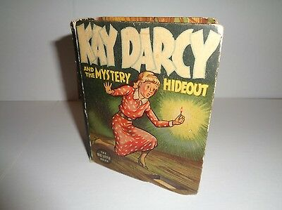 Kay Darcy and the Mystery Hideout 1411 (GVG) Whitman 1937 BLB (c#12329)