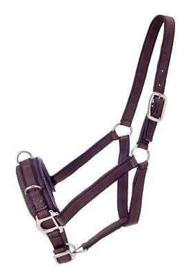 Performer's First Choice Dark Brown Nylon Lunge Caveson Horse Tack Equine 52-135