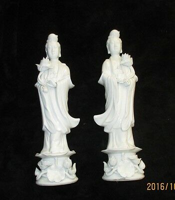 Vintage~Lot Of 2 ~Antique~Japanese Figurines~Please See Pictures~#124