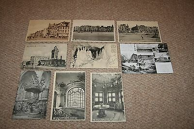 A collection of Belgian postcards from the 1900s