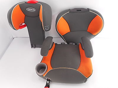 Graco 1875291 - Affix Youth High Back Booster Seat with Latch System - Tangerine