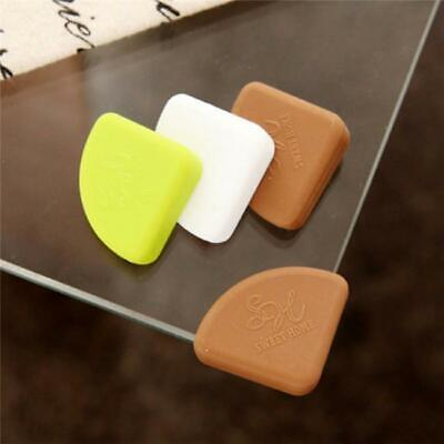 4Pcs Baby Safety Protector Glass Table Desk Corners Edge Cushion Guard Bumper Y