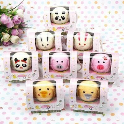 Hot! Animal Fold Cake Towel Hand Towels Washcloth Favors Kid Baby Great Gift Y
