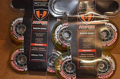 HYPER Razor Edge inline  wheels  8-80mm  78a  labeda, revision, rinkrat